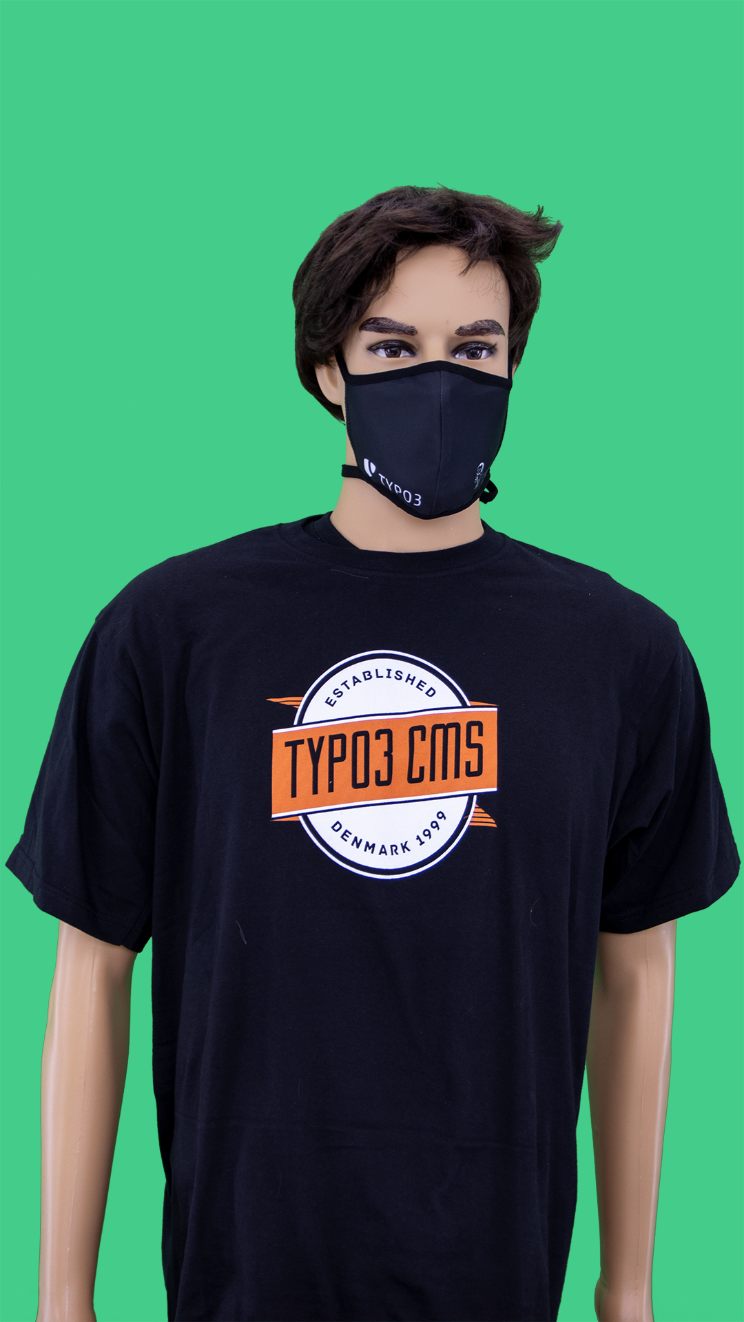 "TYPO3 Unisex T-Shirt ""Established 1998"" (LE2016)"
