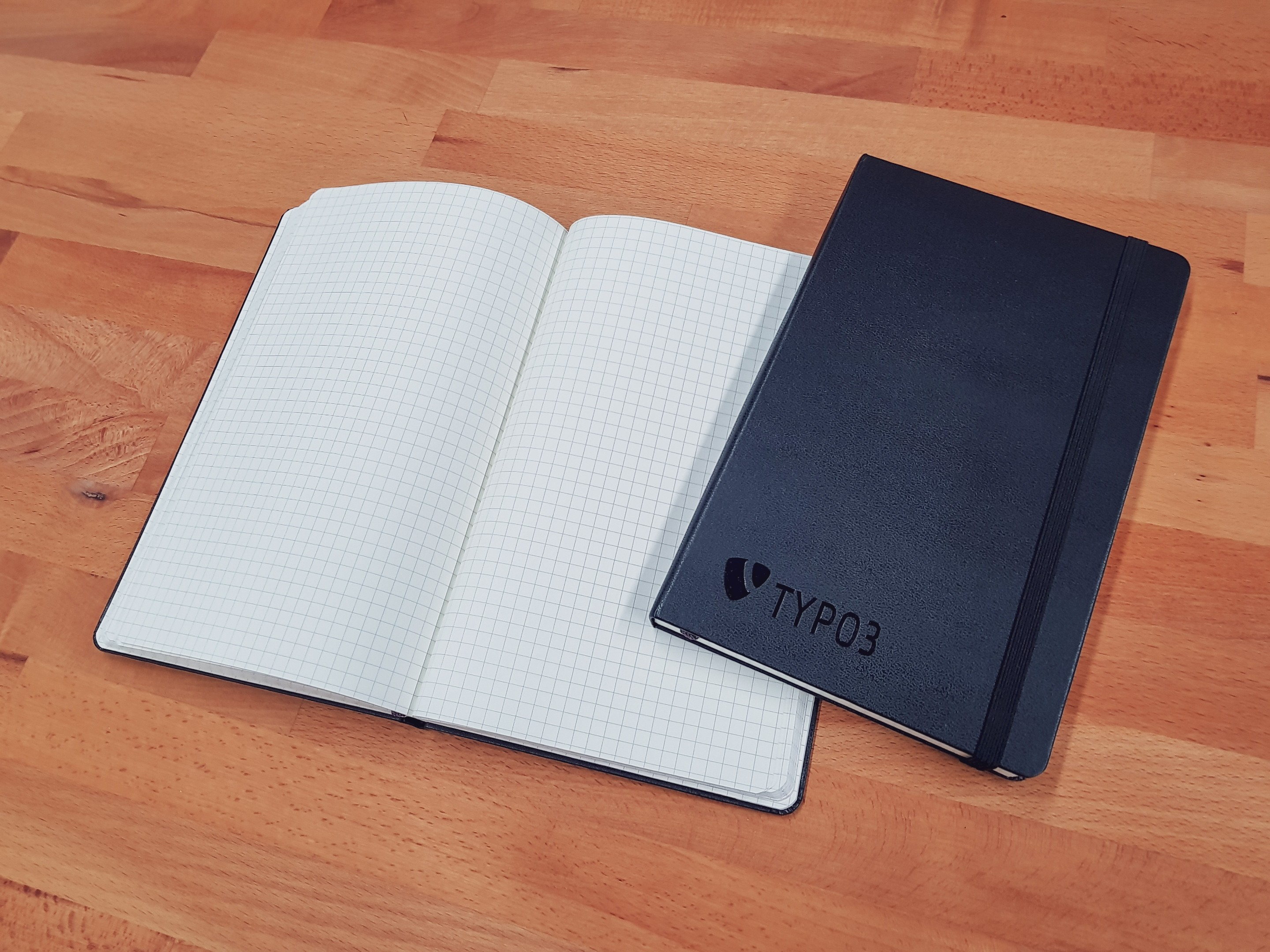 TYPO3 Moleskine® A5 Notebook